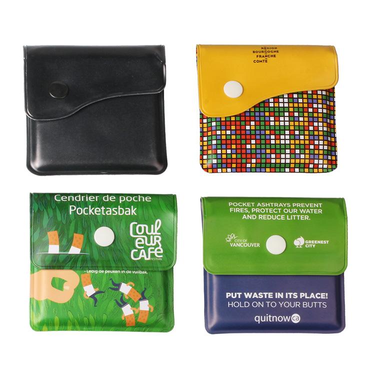Wholesale Portable PVC Pocket Ashtray Featured Image