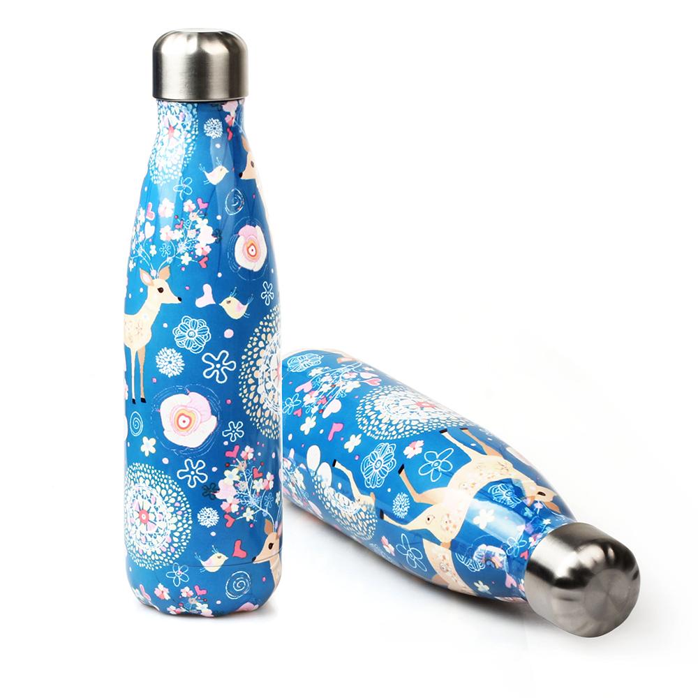 wholesale 17oz stainless steel water bottle coke shape bottle Featured Image