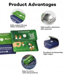 Wholesale Portable PVC Pocket Ashtray