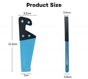 Wholesale V Shape Phone Holder PVC Mobile Holder for iPhone
