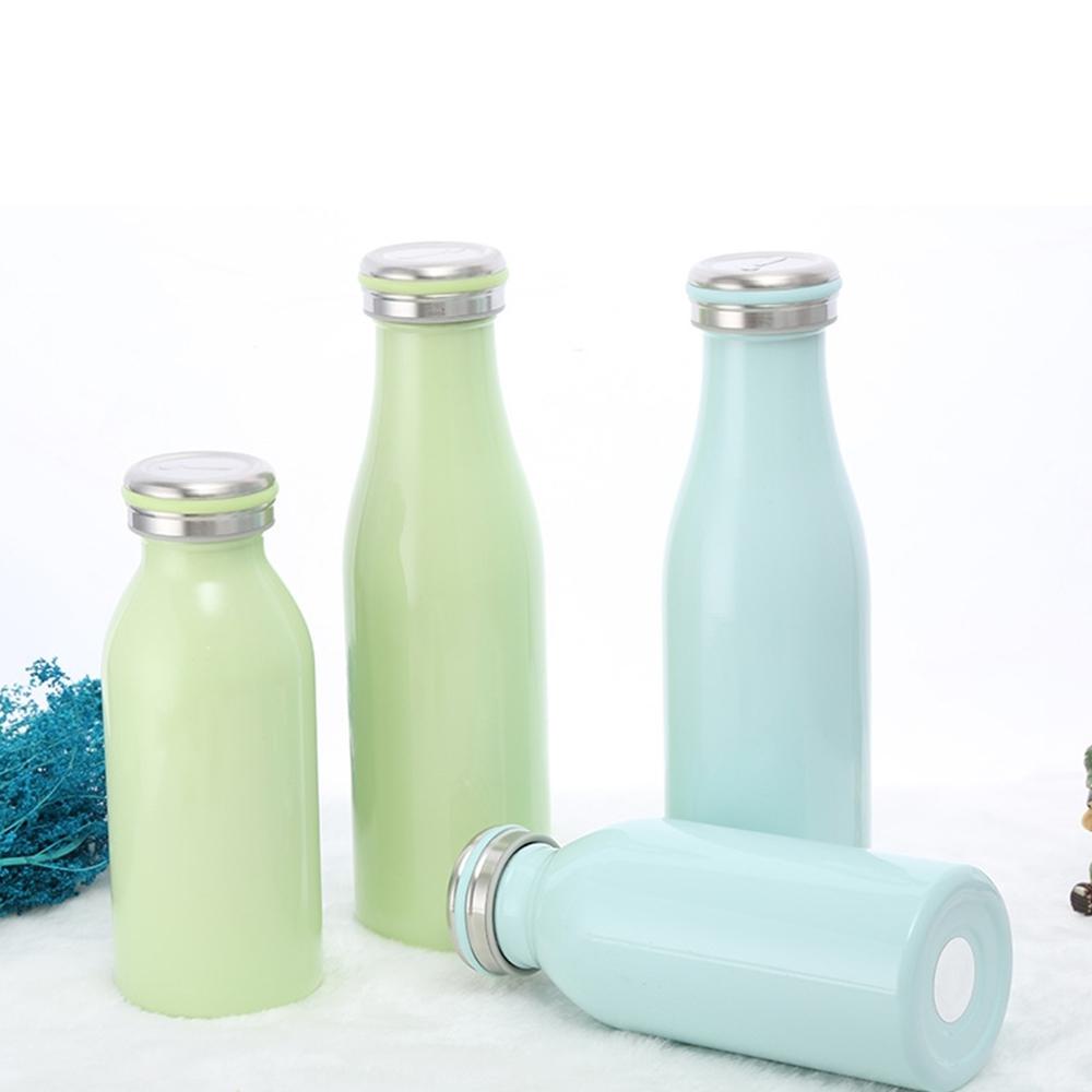 Custom Logo Water Bottle Custom Stainless Steel Sports Drink Flasks Milkybottle for Outdoor Featured Image