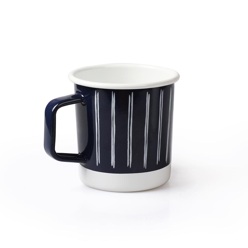 Wholesale 12 OZ V Shape Camping Enamel mug with Handle Featured Image