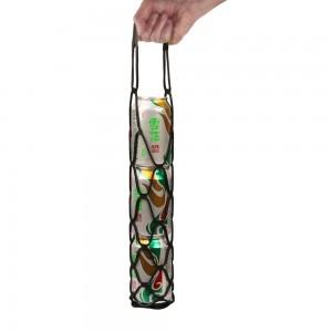 Multi-function Food Grade Silicone Mesh Bag Mat Coasters Wine Basket Bottle Holder Wine Mesh Tote Carrier
