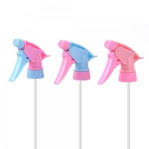 Wholesale PP Garden Trigger Sprayer Spray Nozzle Head With Straw