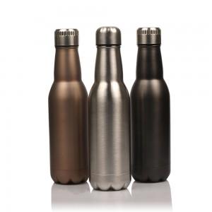 Hot Selling Stainless Steel Vacuumn Beer Shape Bottle