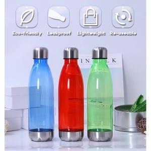 17oz Swell Shaped Plastic Travel Bottle