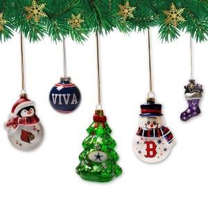 Wholesale Penguin Shaped Glass Ornament